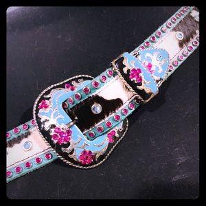 Leatherock western inspired belt